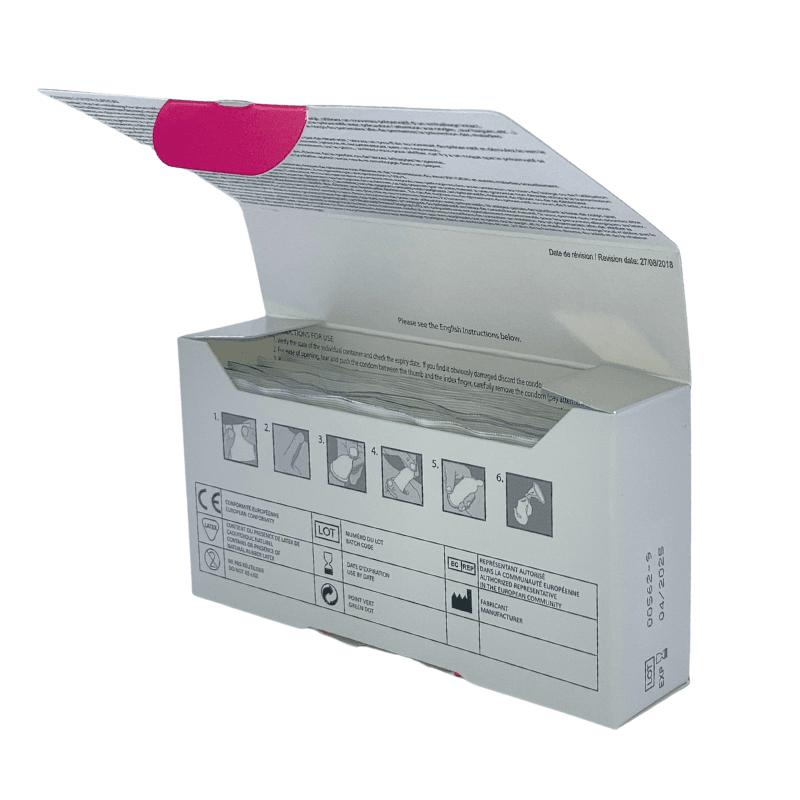 Préservatifs Anatomic Réel boîte 12 ouverte