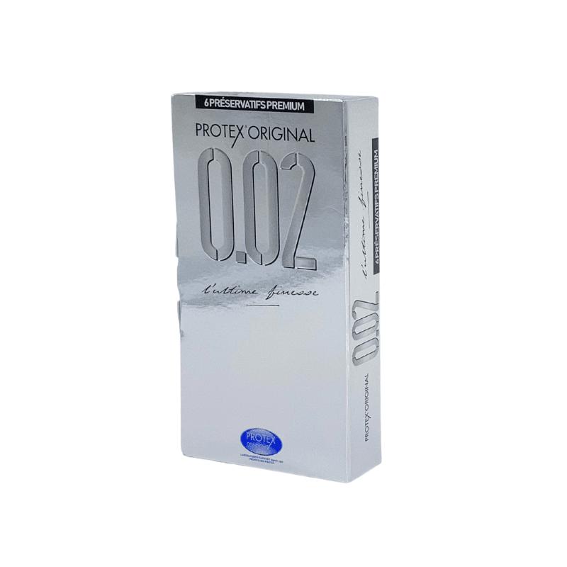 Protex Original 0.02 boîte de 6 préservatifs